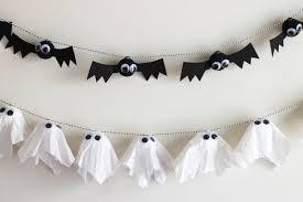 Bat Drawings For Halloween by Diy Bat U0026 Ghost Garlands Evite