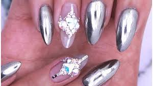 bling bling glamour nail art designs u0026 ideas you u0027ll ever see