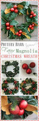 Best 25 Pottery Barn Inspired Best 25 Faux Magnolia Wreath Ideas On Pinterest Artificial