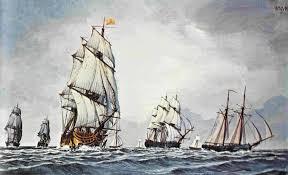 continental navy ship alfred saltonstall pitcher jones hinman