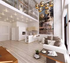 living room white chair light brown wooden flooring brown