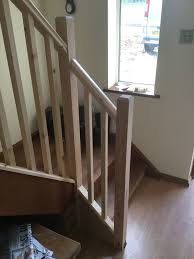 New Banisters Stairs Hand Rails Spindles Nma Carpentry U0026 Building