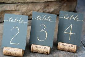 diy table number holders 21 diy wedding table number ideas diy