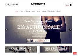 22 free ecommerce wordpress themes with shopping cart