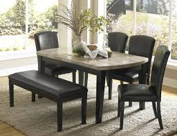 bench black leather bench seat friendly black leather dining