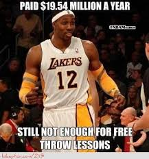 Dwight Howard Memes - dwight howard needing money for free throw lessons http