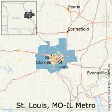 stl metro map best places to live in st louis metro area missouri