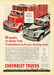Vintage Ford Truck Advertisements - 1946 chevrolet truck ad chevrolet car ads pinterest