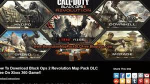 Rezurrection Map Pack How To Install Black Ops 2 Revolution Map Pack Dlc Video Dailymotion