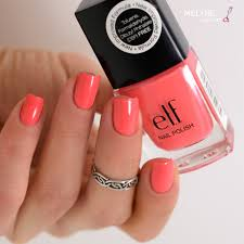 elf coral dream swatch by melyne nailart nailpolis museum of