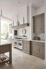 Grey Kitchens Cabinets Best 25 Warm Grey Kitchen Ideas On Pinterest Grey Shaker