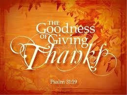 sunday november 26 2017 testimonies of thanksgiving