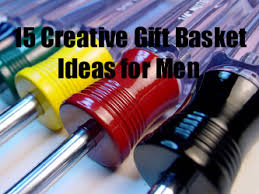 creative gift baskets 15 creative gift basket ideas for men pioneer thinking