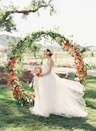 wedding backdrop outdoor we ve found the girly wedding inspo of your dreams orange
