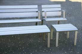 neoromántico liviano 100 aluminio benches miguel milá