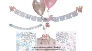 winter baby shower ideas little snowflake baby shower christmas