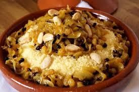 cuisine marocaine couscous recette couscous marocain aux fruits secs recettes cuisine marocaine