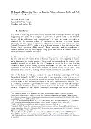 doc 585620 profit sharing agreement template u2013 sample profit