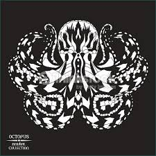 stylized octopus sketch for tattoo or tshirt vector art thinkstock