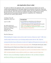 example of cover letter 9 samples in word pdf