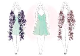 unrealistic proportions in fashion illustration history