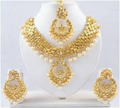wedding necklace photos images Indian wedding necklace and earring set women jewelry cz bridal jpg