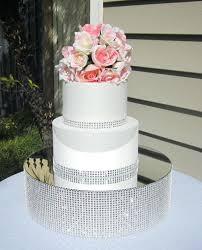 rhinestone cake stand wedding cake platform mirror wedding cake stand riser