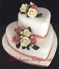 Heart Wedding Cake The Sugar Fairy Quality Hand Made Cakes For Every Occasion