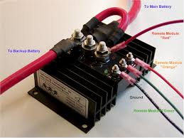 how to wire dual batteries isolator battery selector switch
