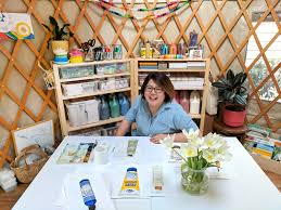 Living In A Yurt by The Artist U0027s Modern Yurt A Creative Space For A Creative Mind