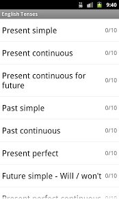 english tenses android apps on google play