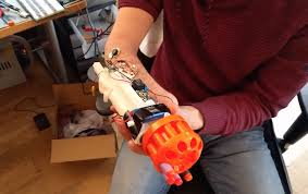 Interesting Gadgets Bionic Nerf Gun Comes Closer To What Sci Fi Promised Us