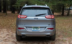 jeep compass interior dimensions 2017 jeep cherokee in depth model review car and driver