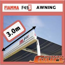 Wind Out Awning Fiamma 06280a01n F45 S 3 00m Awning Ocean Blue Ebay
