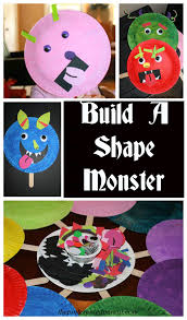Halloween Monsters For Kids by Paper Plate Shape Monster Masks U2013 The Pinterested Parent
