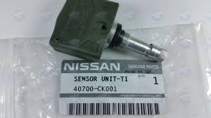 nissan altima 2015 tpms error nissan oem 40700ck001 tire pressure sensor part 40700 ck001