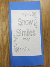 snowflake bentley book simply the classroom snowflake similes