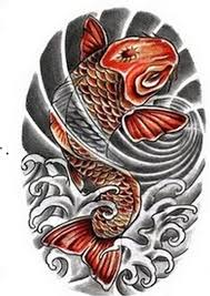 japanese koi fish design 2 tattoo tattoos book