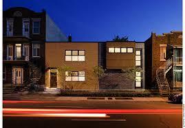 contemporary row house design interior exterior plan zoomtm 17710