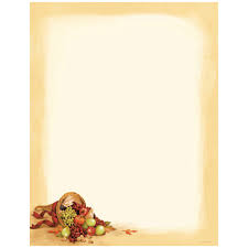cornucopia autumn and thanksgiving printer paper your paper stop