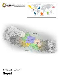 Where Is Nepal On The Map Nepal Choice Humanitarian
