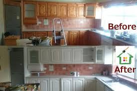 Painting Old Kitchen Cabinets Before And After Painting Kitchen Cabinets Cork Painters For Professional Painting
