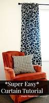 Simple Curtains For Living Room Simple Curtain Tutorial Simple Simon And Company