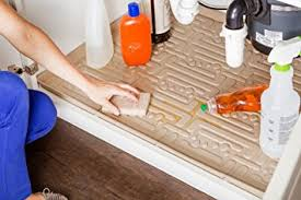 Under Kitchen Sink Cabinet Amazon Com Xtreme Mats Under Sink Kitchen Cabinet Mat 33 5 8 X