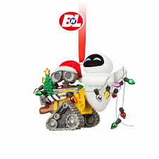 picture collection wall e and eve christmas ornament all can