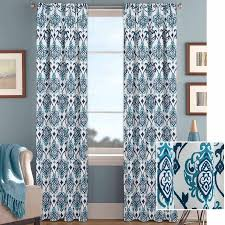 Better Homes Curtains Better Homes And Gardens Damask Curtain Panel Walmart