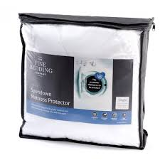 the fine bedding company spundown mattress protector king