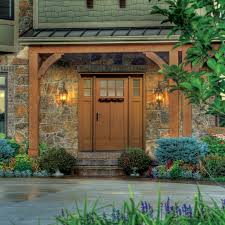 Energy Efficient Exterior Doors Accugrain Technology Puts Real Wood Into Affordable Easy