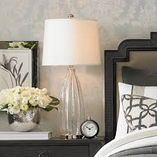 End Tables For Bedroom by Best Glass Table Lamps For Bedroom Photos Decorating Design