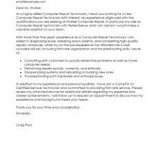 cover letter sample cover letter technical technical support cover